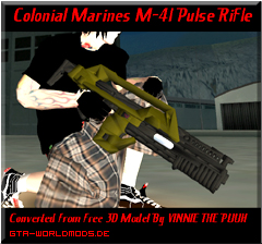 C. Marines M-41 Pulse Rifle