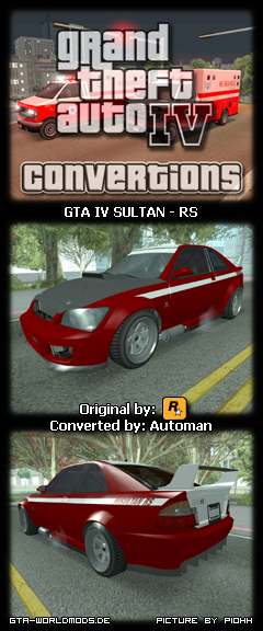 Sultan RS from Gta IV