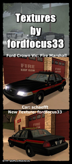 Ford Crown Victoria Fire