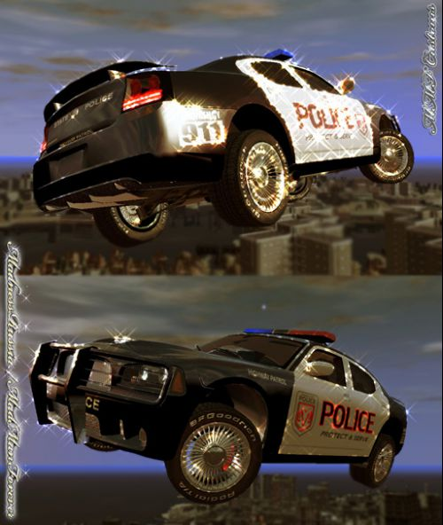 Police Cruiser - Dodge Charger