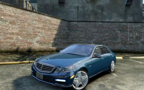 Mercedes Benz E63 AMG Additional Version 2010